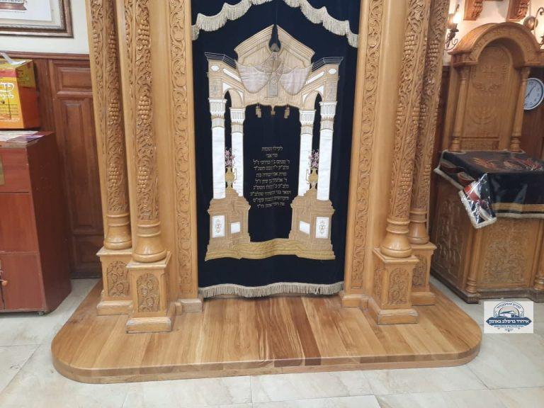 ארון הקודש בציון משופץ