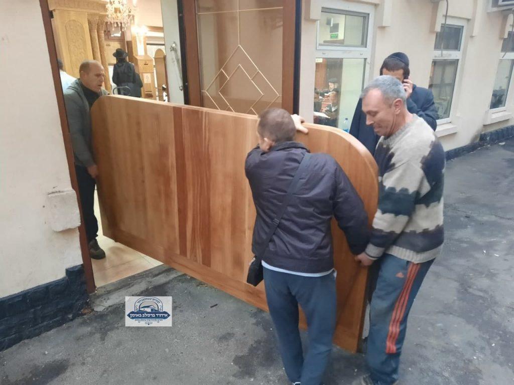 הגבהה חדשה לארון הקודש בציון