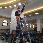 התקנת גופי תאורה ותיקון תקלות חשמל בציון