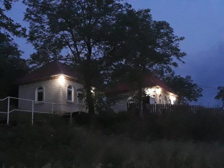 ציון רבי נתן שטרנהרץ מחבר הספר הקדוש לקוטי תפילות בעיירה ברסלב שבאוקראינה
