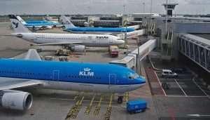 בשדה התעופה