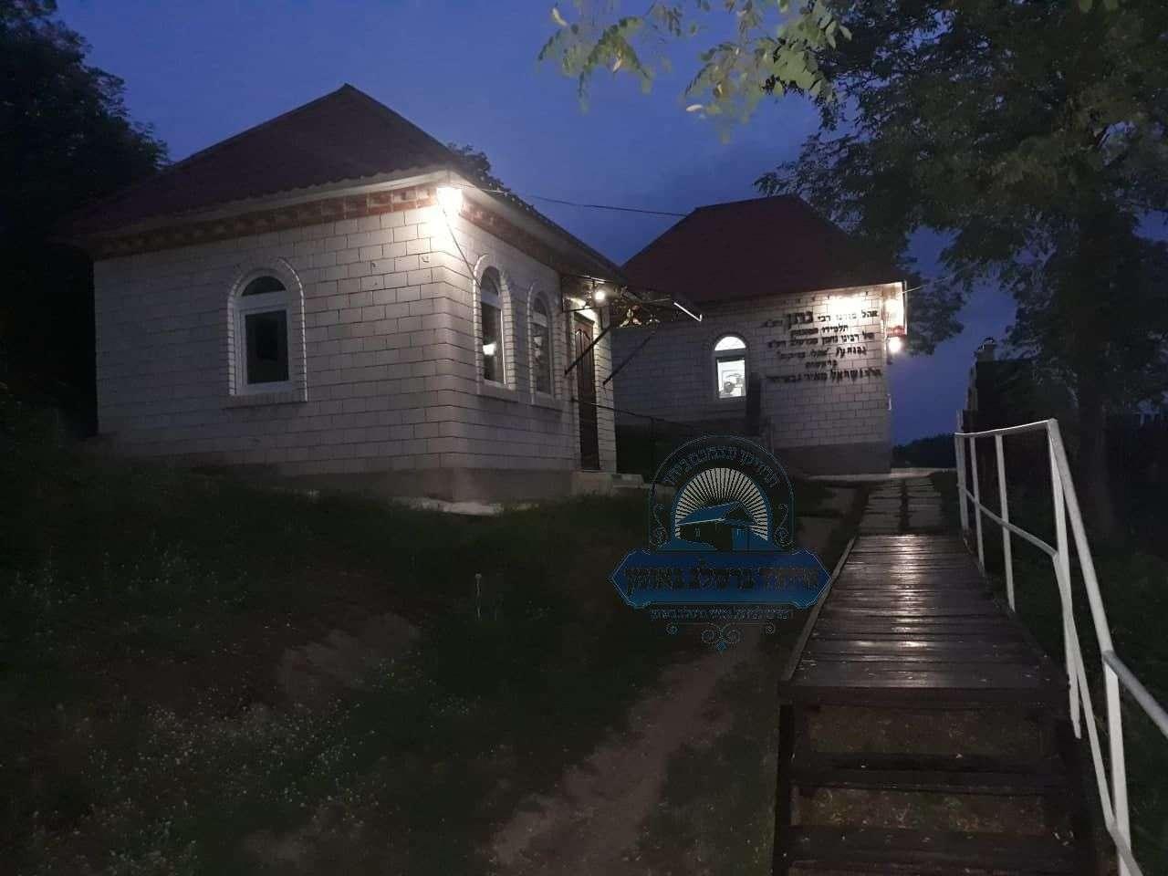 בית החיים בו טמון רבי נתן