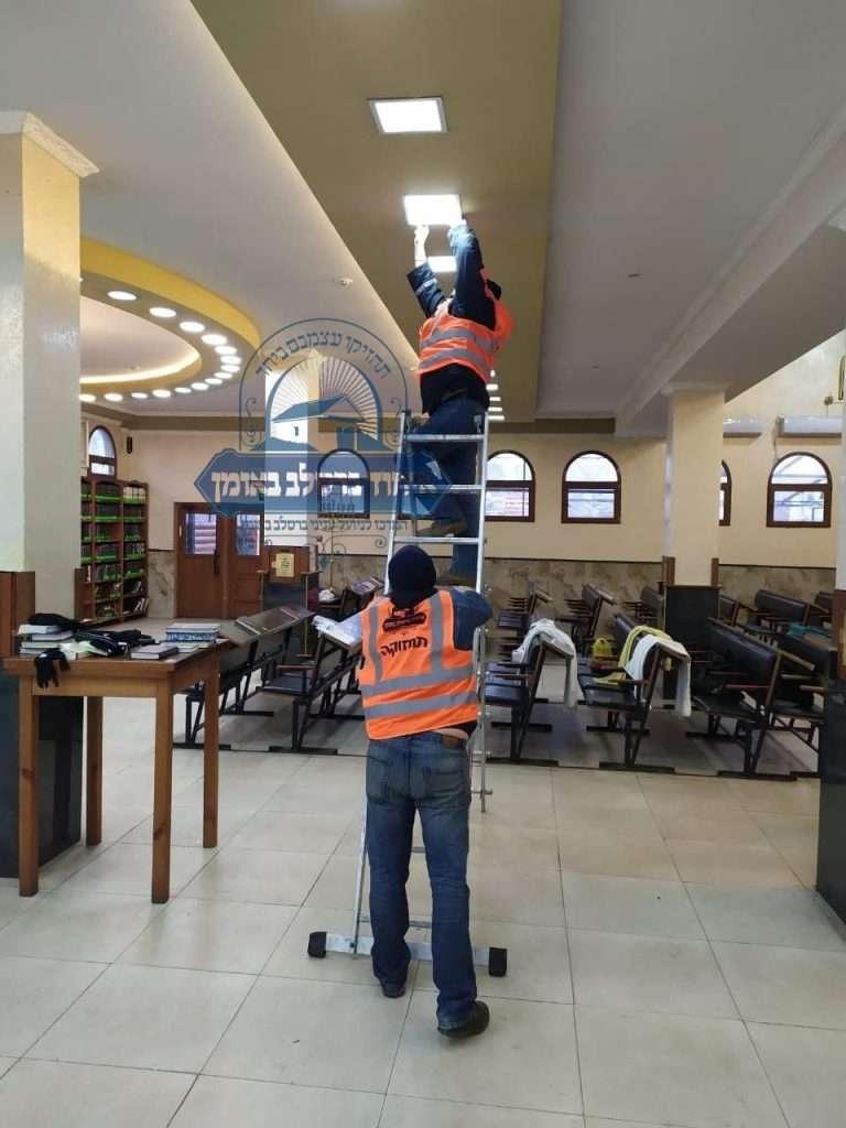 עבודות תחזוקה בציון