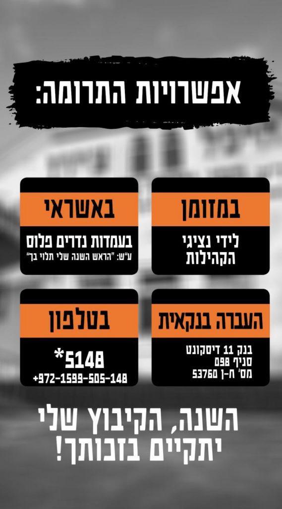 קמפיין גיוס המונים עבור הוצאות ראש השנה אצל רבנוקמפיין גיוס המונים עבור הוצאות ראש השנה אצל רבנו