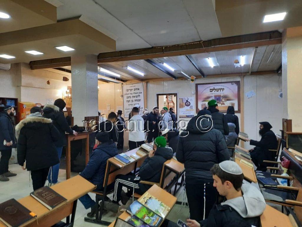 """ראש חודש ניסן באומן תשפ""""א"""