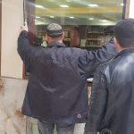 עבודות תחזוקה בקבר רבי נחמן מברסלב