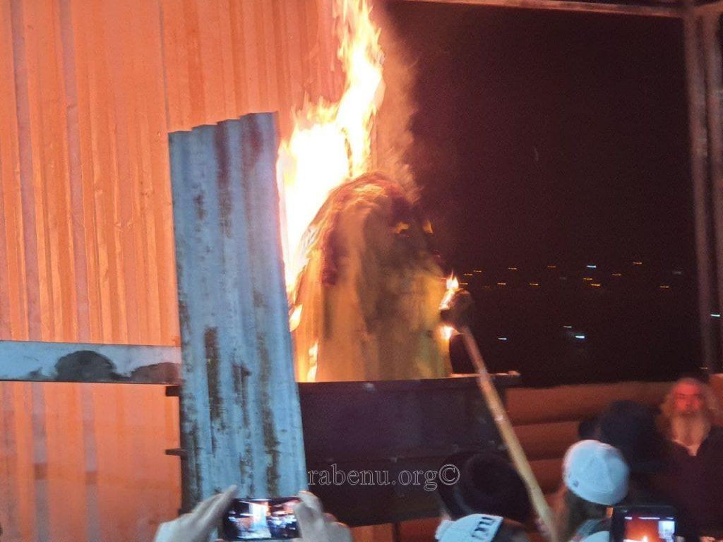 הילולת רבי שמעון בר יוחאי בציון רבי נחמן מברסלב באומן