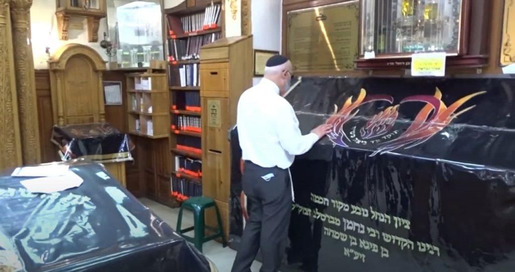 שגריר ישראל באוקראינה הגיע לתפילה ולהתרשמות מההכנות בציון