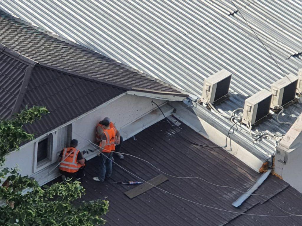 תחזוקת הגג הציון