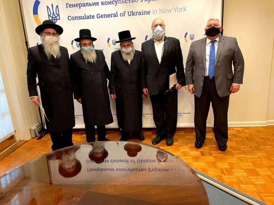 נתן בן נון נפגש עם שגריר והקונסול הכללי של אוקראינה