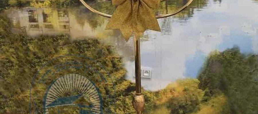 מנורה חדשה ומפוארת בציון רבי נחמן מברסלב באומן